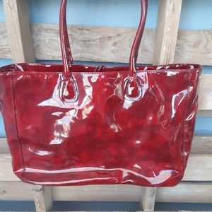 Handbags - 😲3/20:Unbranded large red tote